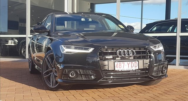 Discounted Demonstrator, Demo, Near New Audi A6 Black Edition S tronic quattro, Toowoomba, 2017 Audi A6 Black Edition S tronic quattro Sedan