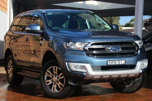 Discounted Demonstrator, Demo, Near New Ford Everest Trend RWD, Warwick Farm, 2016 Ford Everest Trend RWD Wagon