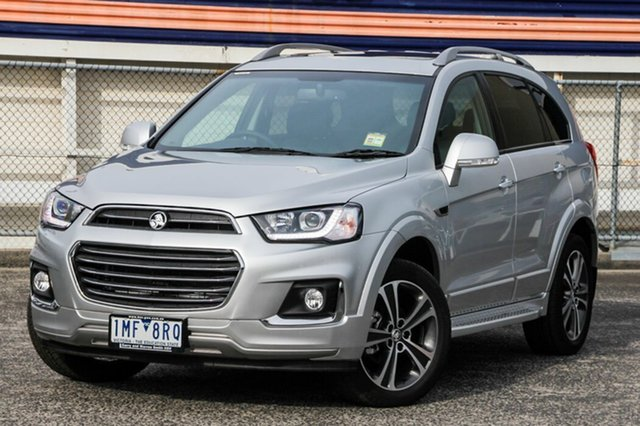 Demonstrator, Demo, Near New Holden Captiva 7 LTZ (AWD), Oakleigh, 2017 Holden Captiva 7 LTZ (AWD) CG MY17 Wagon