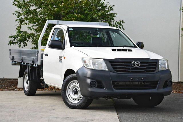 Used Toyota Hilux Workmate, Robina, 2013 Toyota Hilux Workmate KUN16R MY12 Cab Chassis