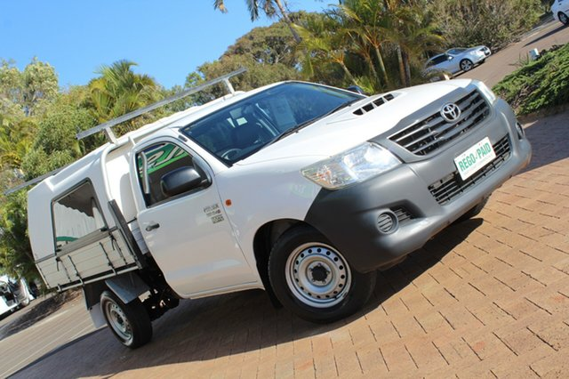 Used Toyota Hilux Workmate, Bokarina, 2013 Toyota Hilux Workmate KUN16R MY12 Cab Chassis