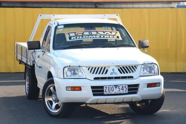 Discounted Used Mitsubishi Triton GL 4x2, Cheltenham, 2004 Mitsubishi Triton GL 4x2 Cab Chassis