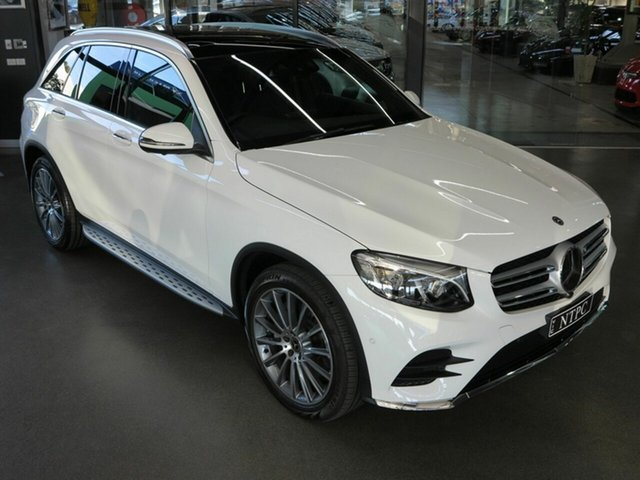 Used Mercedes-Benz GLC350 d 9G-TRONIC 4MATIC, North Melbourne, 2017 Mercedes-Benz GLC350 d 9G-TRONIC 4MATIC Wagon