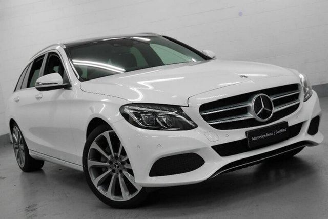 Used Mercedes-Benz C250 d Estate 9G-TRONIC, Southport, 2017 Mercedes-Benz C250 d Estate 9G-TRONIC Wagon