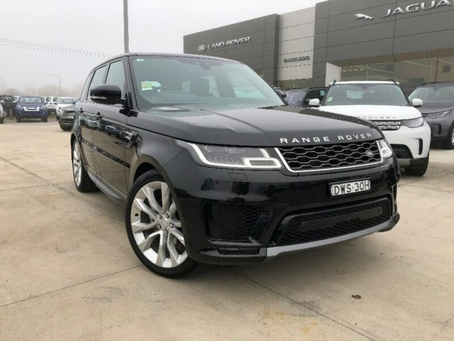 Demonstrator, Demo, Near New Land Rover Range Rover Sport SDV6 CommandShift HSE, Lavington, 2018 Land Rover Range Rover Sport SDV6 CommandShift HSE Wagon
