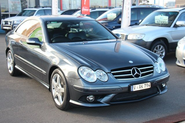 Discounted Used Mercedes-Benz CLK280 Avantgarde, Cheltenham, 2009 Mercedes-Benz CLK280 Avantgarde Coupe