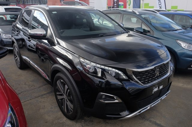 Demonstrator, Demo, Near New Peugeot 3008 GT SUV, Bowen Hills, 2017 Peugeot 3008 GT SUV Hatchback