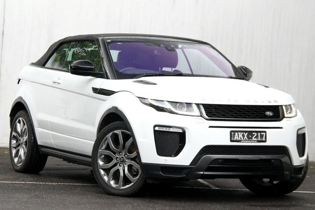 Used Land Rover Range Rover Evoque TD4 180 HSE Dynamic, Malvern, 2016 Land Rover Range Rover Evoque TD4 180 HSE Dynamic Convertible