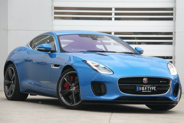 Discounted Demonstrator, Demo, Near New Jaguar F-TYPE R-Dynamic Quickshift RWD 250kW, Gardenvale, 2017 Jaguar F-TYPE R-Dynamic Quickshift RWD 250kW Coupe