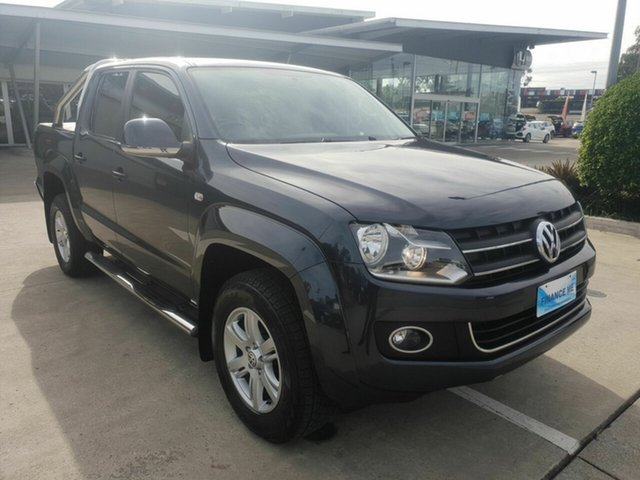 Discounted Used Volkswagen Amarok TDI420 4Motion Perm Highline, Yamanto, 2013 Volkswagen Amarok TDI420 4Motion Perm Highline Utility