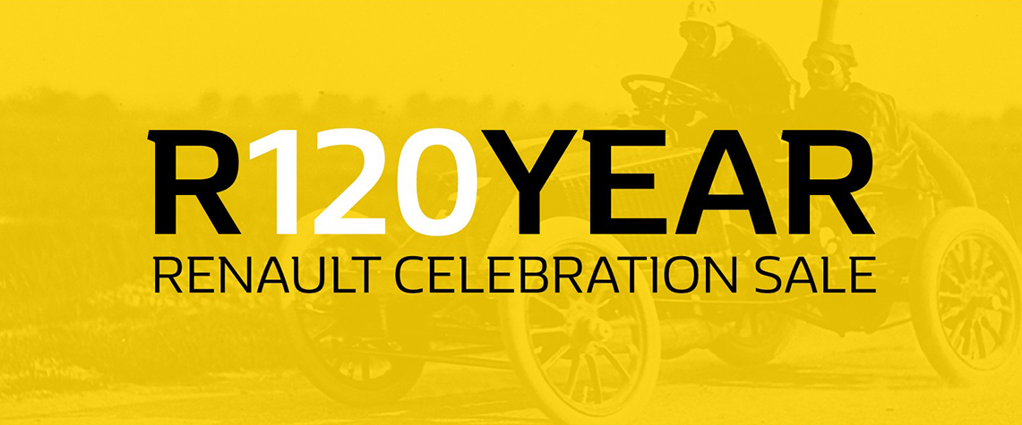 R120YEAR Renault Celebration Sale