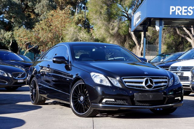 Used Mercedes-Benz E250 CDI BlueEFFICIENCY Elegance, Balwyn, 2010 Mercedes-Benz E250 CDI BlueEFFICIENCY Elegance Coupe
