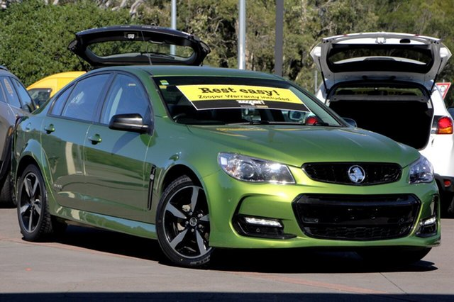Discounted Used Holden Commodore SV6 Black, Caloundra, 2016 Holden Commodore SV6 Black Sedan