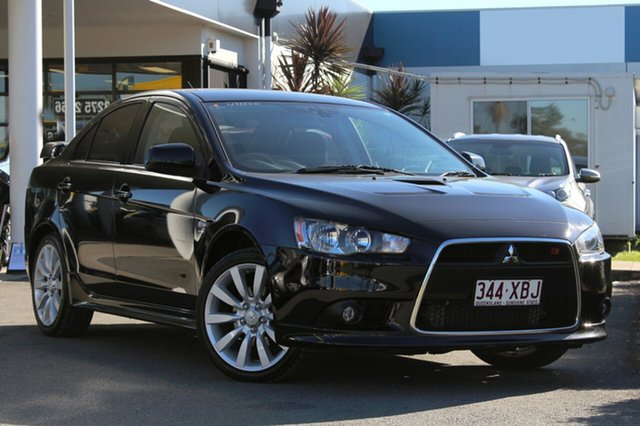 Used Mitsubishi Lancer Ralliart TC-SST, Bowen Hills, 2008 Mitsubishi Lancer Ralliart TC-SST Sedan