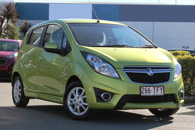 Used Holden Barina Spark CD, Bowen Hills, 2013 Holden Barina Spark CD Hatchback