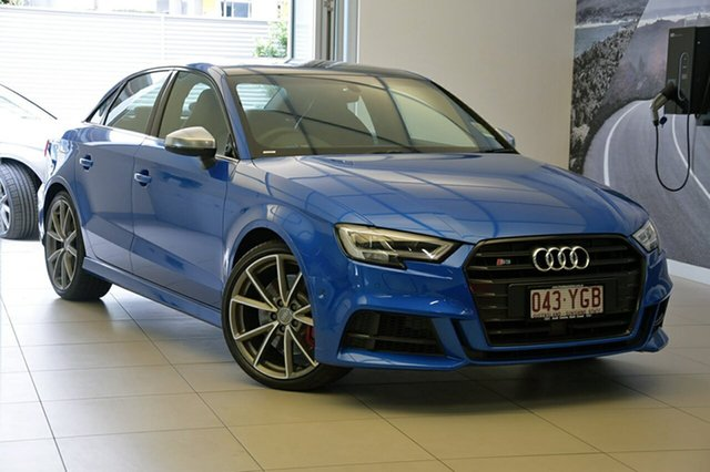 Demonstrator, Demo, Near New Audi S3 S tronic quattro, Southport, 2017 Audi S3 S tronic quattro Sedan