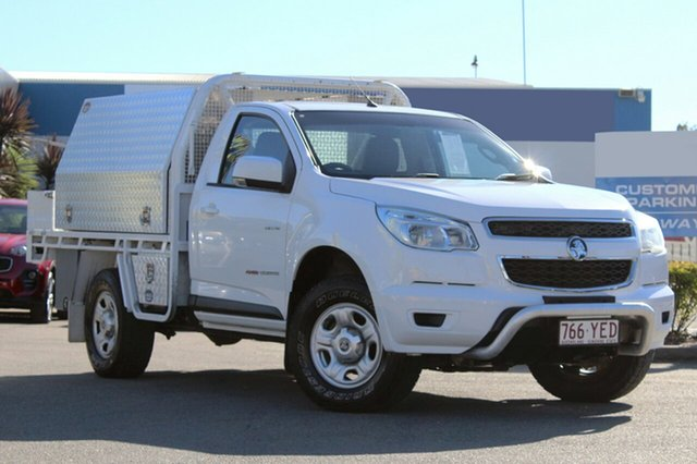 Used Holden Colorado LX, Bowen Hills, 2014 Holden Colorado LX Cab Chassis