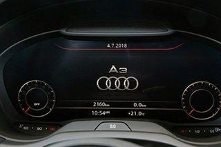 2018 Audi A3 Sedan.