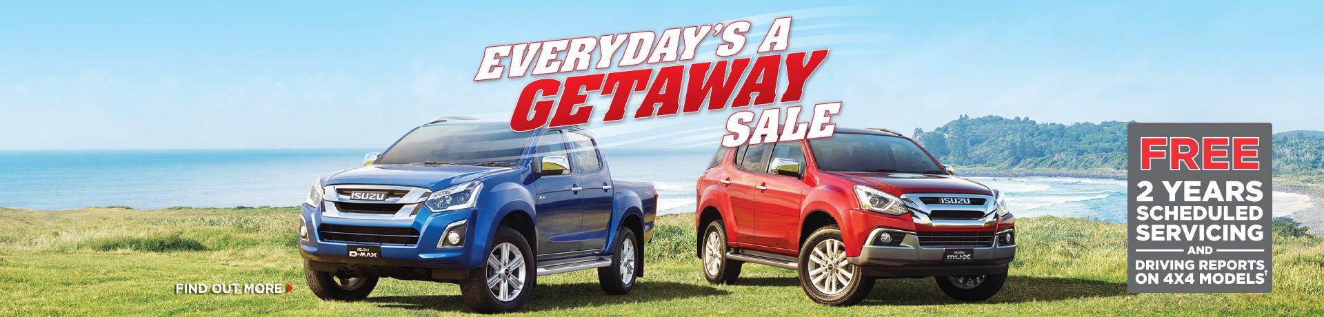 Everyday's Getaway Sale