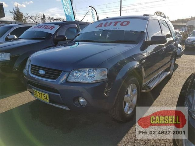 Used Ford Territory TS, Campbelltown, 2007 Ford Territory TS Wagon