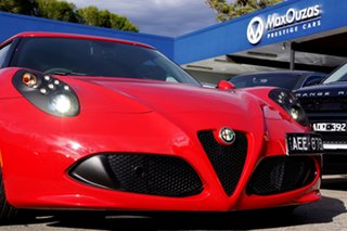 2015 Alfa Romeo 4C TCT Coupe.