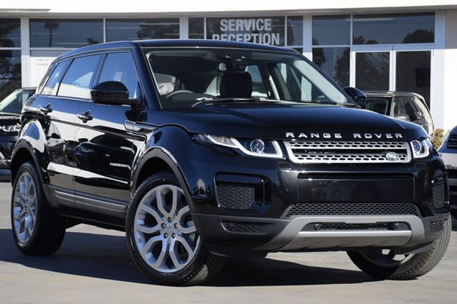 Demonstrator, Demo, Near New Land Rover Range Rover Evoque TD4 150 SE, Narellan, 2018 Land Rover Range Rover Evoque TD4 150 SE SUV