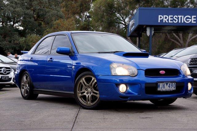 Used Subaru Impreza WRX AWD, Balwyn, 2002 Subaru Impreza WRX AWD Sedan