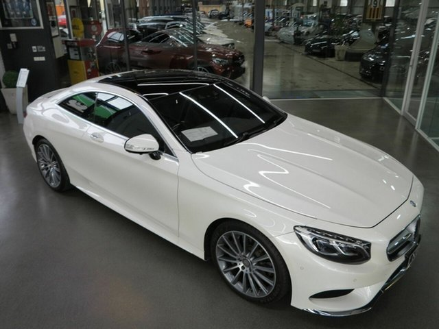 Used Mercedes-Benz S500 9G-Tronic PLUS, North Melbourne, 2015 Mercedes-Benz S500 9G-Tronic PLUS Coupe