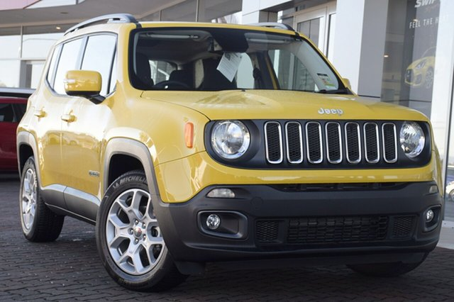 Discounted Demonstrator, Demo, Near New Jeep Renegade Longitude DDCT, Southport, 2017 Jeep Renegade Longitude DDCT SUV