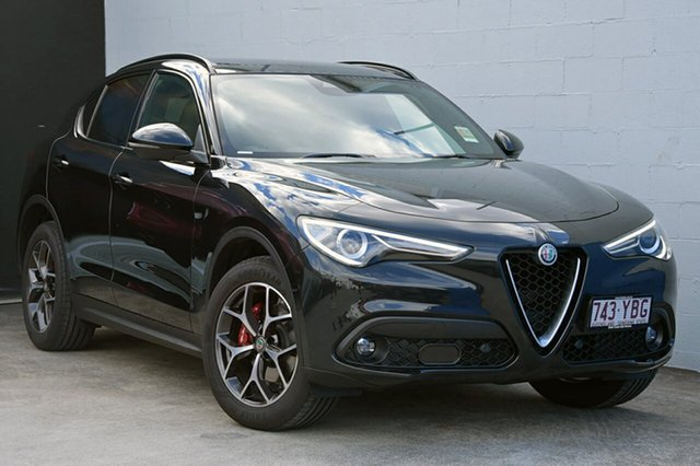 Demonstrator, Demo, Near New Alfa Romeo Stelvio, Southport, 2017 Alfa Romeo Stelvio Wagon