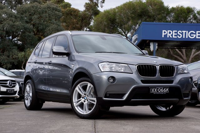 Used BMW X3 xDrive20d Steptronic, Balwyn, 2012 BMW X3 xDrive20d Steptronic Wagon