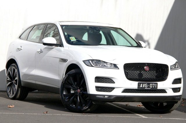 Demonstrator, Demo, Near New Jaguar F-PACE 20d AWD Prestige, Malvern, 2017 Jaguar F-PACE 20d AWD Prestige Wagon