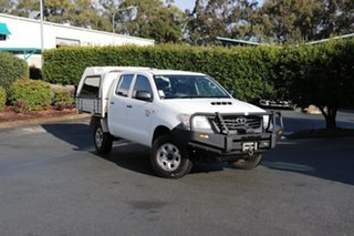Used Toyota Hilux Workmate Double Cab, Acacia Ridge, 2013 Toyota Hilux Workmate Double Cab KUN26R MY12 Utility