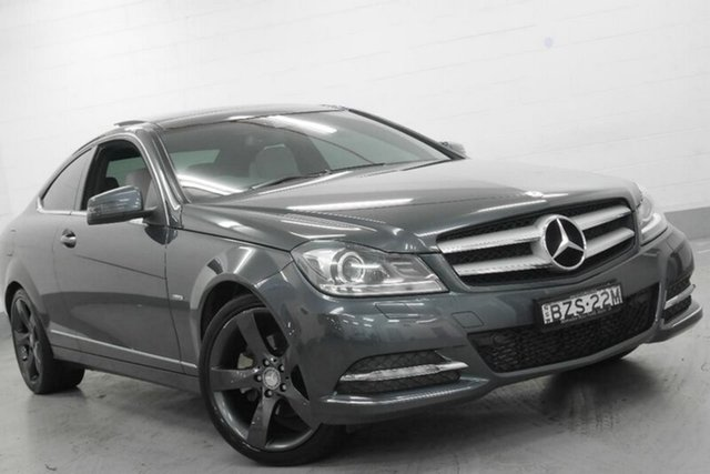 Used Mercedes-Benz C250 BlueEFFICIENCY 7G-Tronic +, Chatswood, 2011 Mercedes-Benz C250 BlueEFFICIENCY 7G-Tronic + Coupe