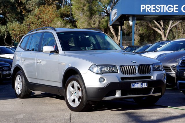 Used BMW X3 xDrive20d Steptronic Lifestyle, Balwyn, 2008 BMW X3 xDrive20d Steptronic Lifestyle Wagon