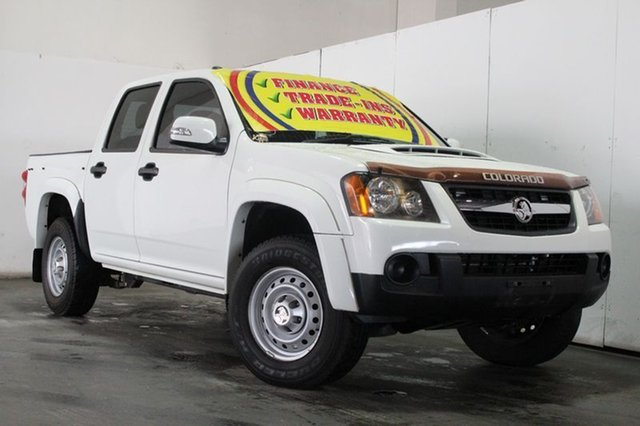Discounted Used Holden Colorado LX (4x4), Underwood, 2009 Holden Colorado LX (4x4) Crew Cab Chassis