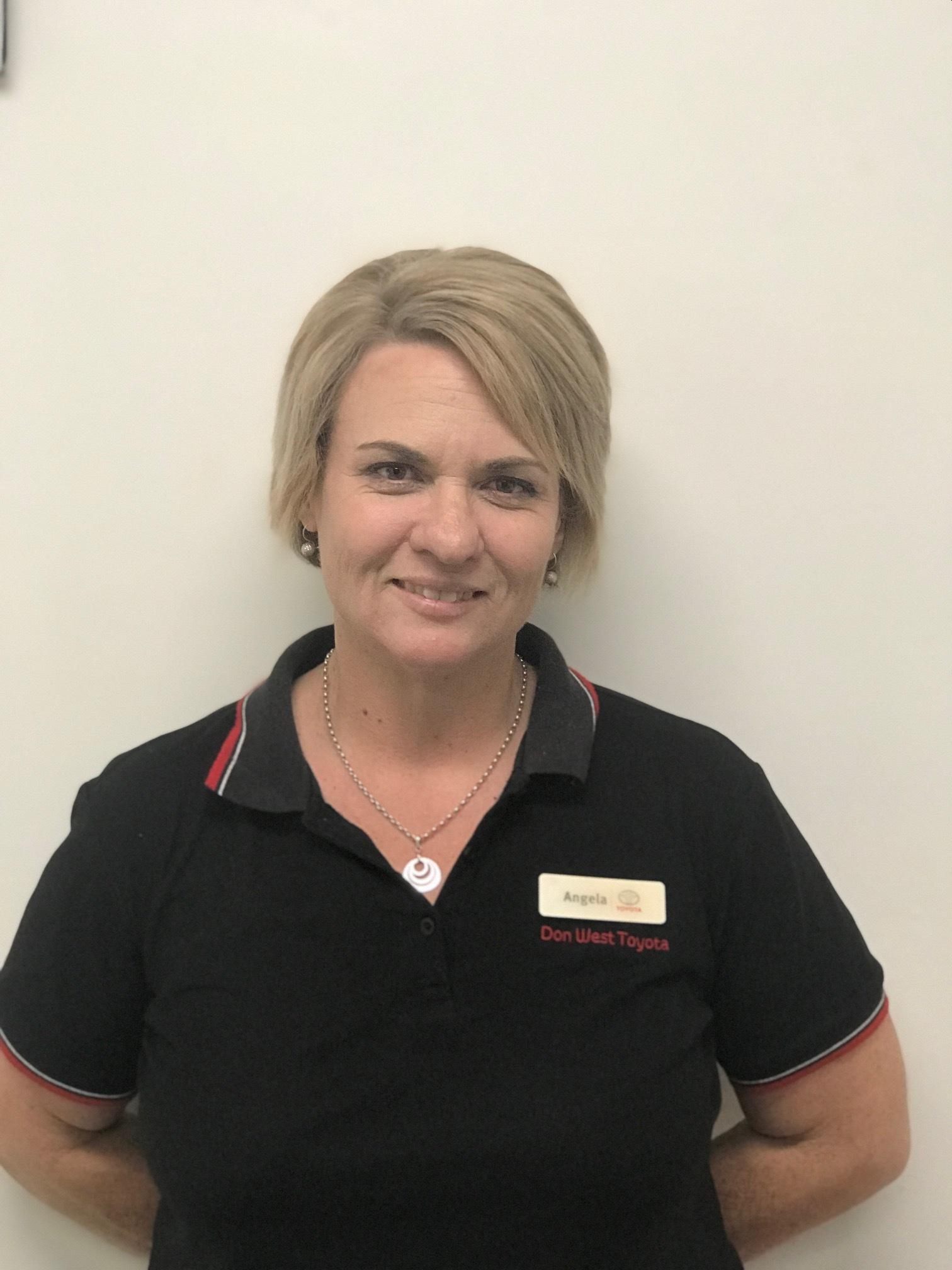 Angela Cabassi - Receptionist