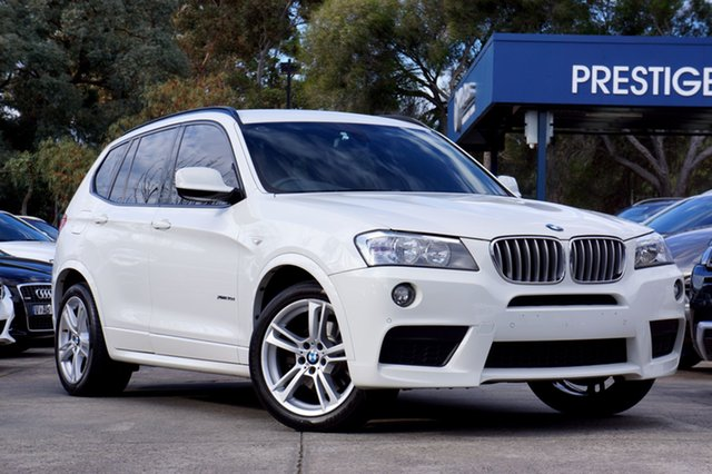 Used BMW X3 xDrive30d Steptronic, Balwyn, 2013 BMW X3 xDrive30d Steptronic Wagon