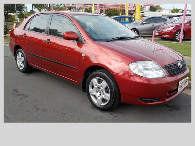 Used Toyota Corolla Ascent, Margate, 2003 Toyota Corolla Ascent Sedan