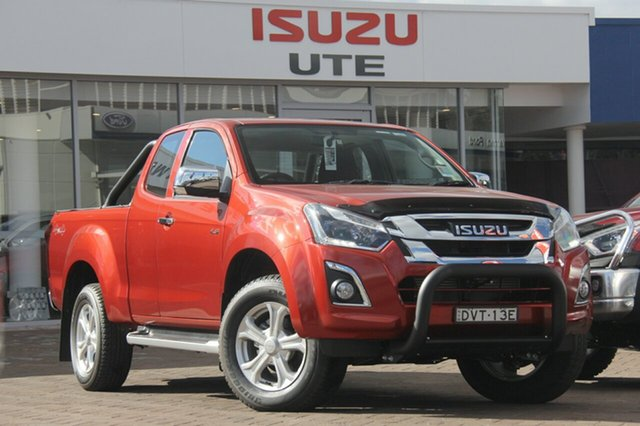 Discounted Demonstrator, Demo, Near New Isuzu D-MAX LS-U Space Cab, Warwick Farm, 2017 Isuzu D-MAX LS-U Space Cab Utility