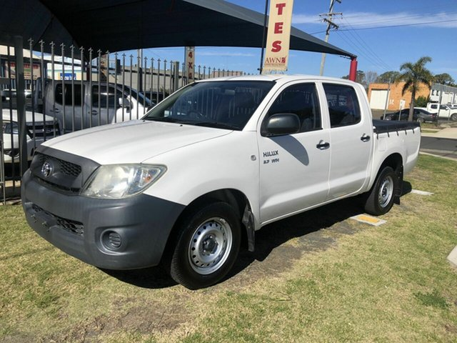 Used Toyota Hilux Workmate, Toowoomba, 2008 Toyota Hilux Workmate Dual Cab Pick-up
