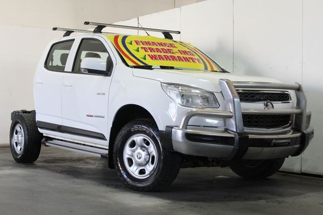 Used Holden Colorado LX (4x4), Underwood, 2014 Holden Colorado LX (4x4) Cab Chassis
