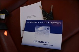 2009 Subaru Liberty GT Wagon.