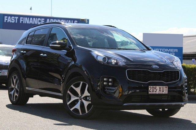 Used Kia Sportage GT-Line AWD, Bowen Hills, 2017 Kia Sportage GT-Line AWD Wagon