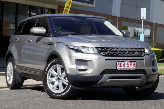 Used Land Rover Range Rover Evoque SD4 CommandShift Pure, Newstead, 2012 Land Rover Range Rover Evoque SD4 CommandShift Pure Wagon