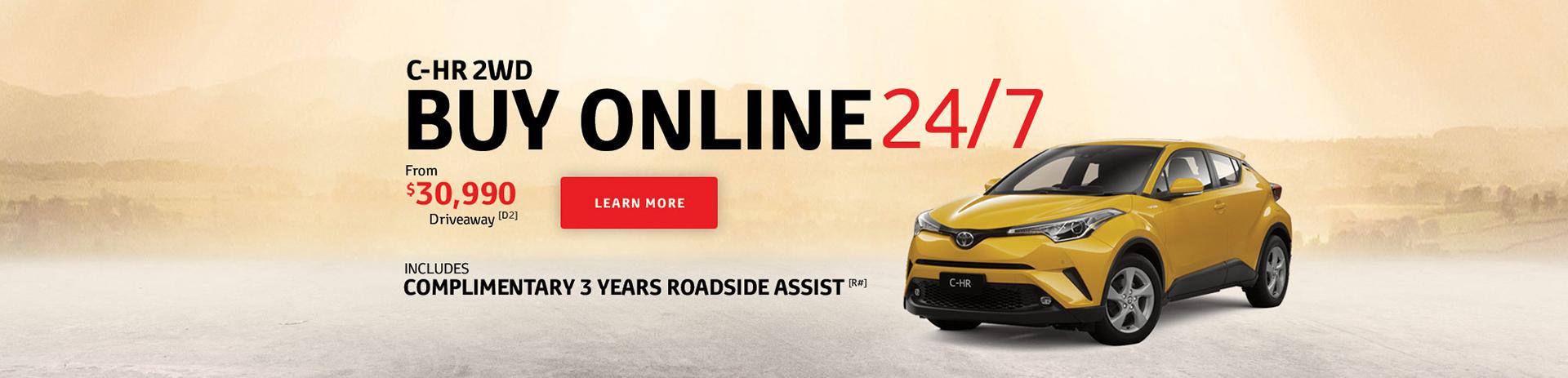 C-HR 2WD - Buy Online 24/7