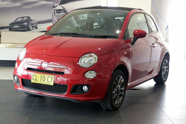 Used Fiat 500C S Dualogic, Southport, 2015 Fiat 500C S Dualogic Convertible