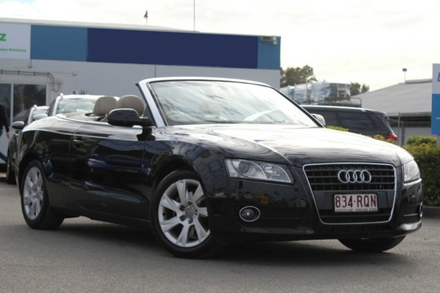 Used Audi A5 Multitronic, Toowong, 2010 Audi A5 Multitronic Cabriolet