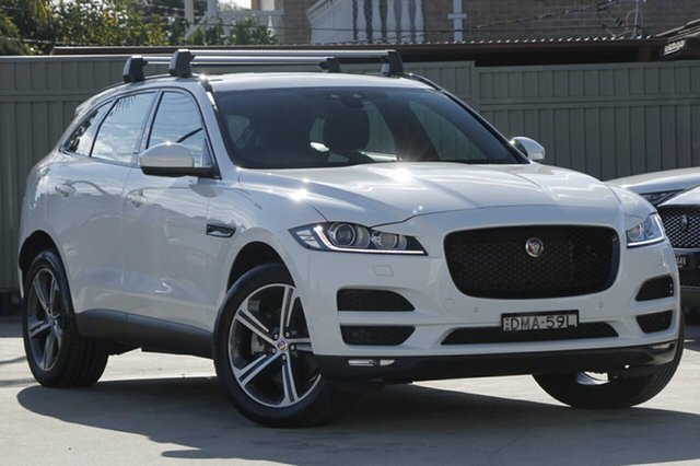 Demonstrator, Demo, Near New Jaguar F-PACE 30d AWD Prestige, Blakehurst, 2016 Jaguar F-PACE 30d AWD Prestige Wagon