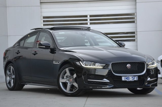 Discounted Demonstrator, Demo, Near New Jaguar XE 25T R-Sport, Gardenvale, 2016 Jaguar XE 25T R-Sport Sedan